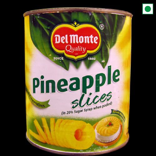 DELMONTE PINEAPPLE SLICES 850GM