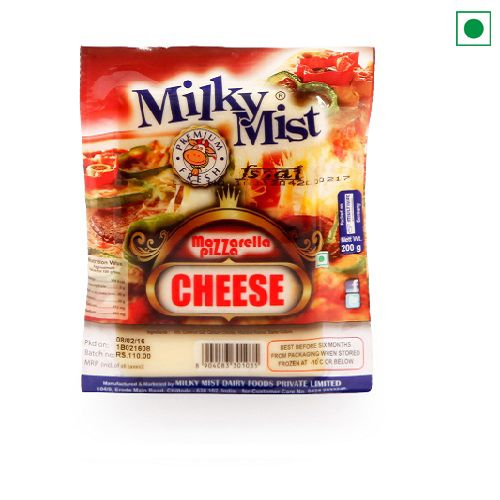 MILKY MIST MOZZARELLA CHEESE 200GM