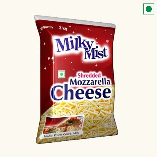 MILKY MIST SHREDDED MOZZARELLA CHEESE 2KG
