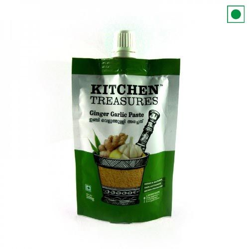 KITCHEN TREASURES GINGER GARLIC PASTE 100 GM