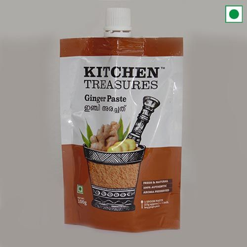 KITCHEN TREASURES GINGER PASTE 100GM