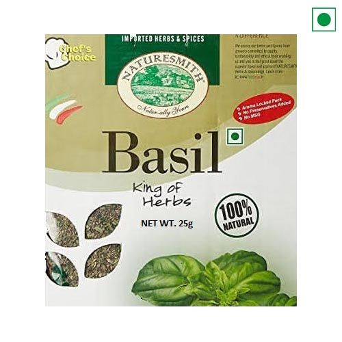 DRY HERB BASIL 25GM