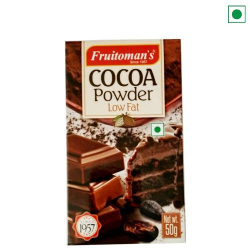 FRUITOMAN'S COCOA POWDER 50GM