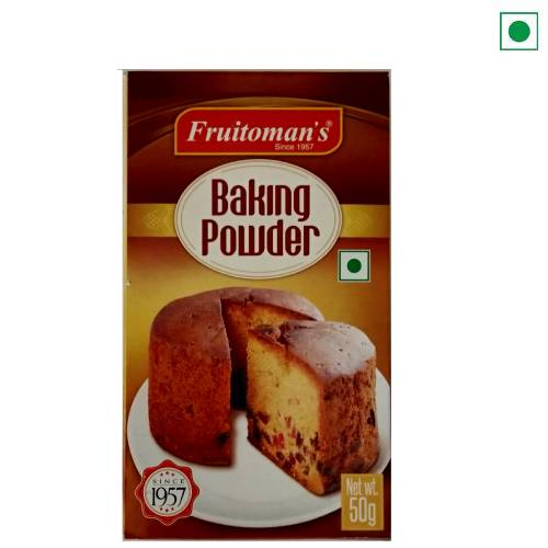 FRUITOMAN'S BAKING POWDER 50GM