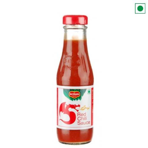 DELMONTE RED CHILLY SAUCE 190GM