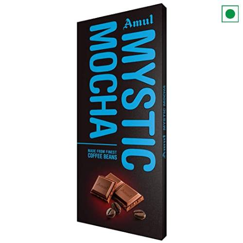 AMUL MYSTIC MOCHA CHOCOLATE 150GM