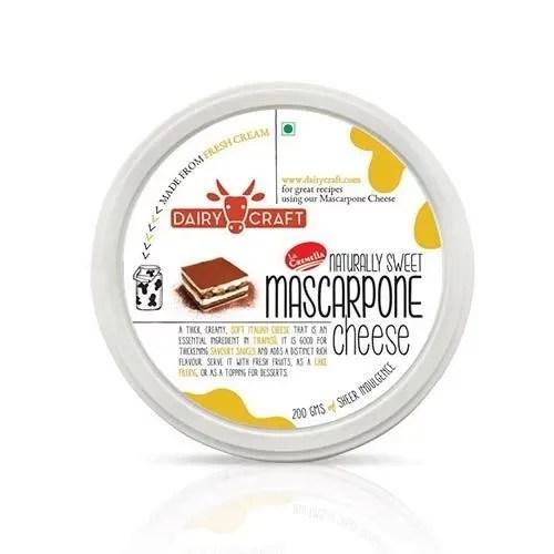DAIRY CRAFT NATURALLY SWEET MASCARPONE CHEESE 500g