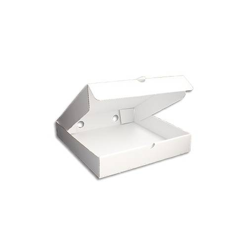 PIZZA BOX WHITE 7X7X2 INCH