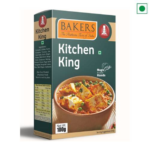 BAKERS KITCHEN KING 100GM