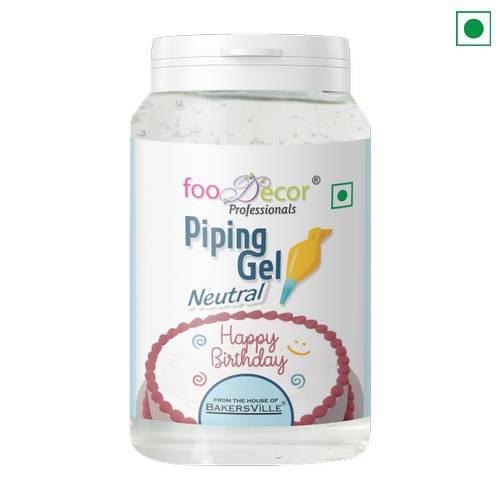FOOD DÉCOR PIPING GEL NEUTRAL 200GM