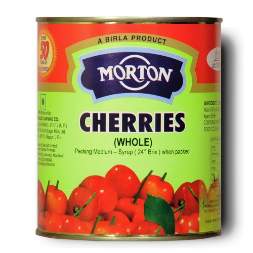 MORTON CHERRIES 850GM