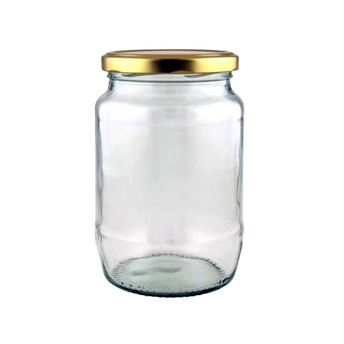 CAKE JAR ROUND 525ML