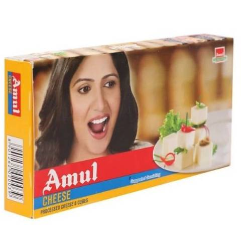 AMUL CHEESE CUBES 8 PIECE X 25g