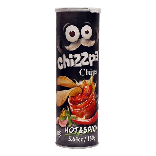 CHIZZPA HOT & SPICY CHIPS 160g