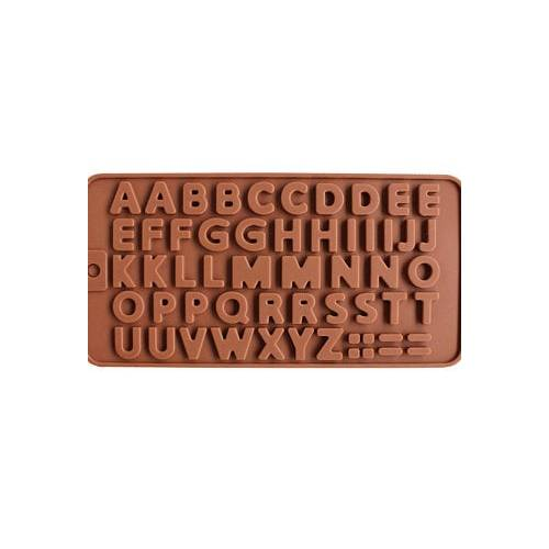 SILICON CHOCOLATE ALPHABET MOULD LARGE