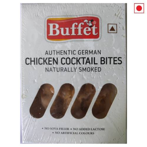 BUFFET AUTHENTIC GERMAN CHICKEN COCKTAIL BITES NATURALLY SMOKED 200g
