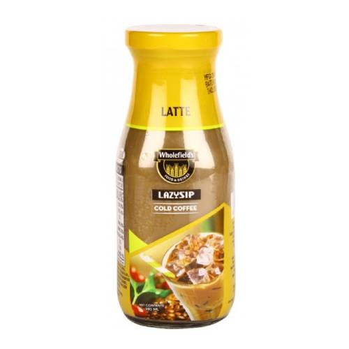 WHOLEFIELD'S LATTE LAZYSIP COFFEE DRINK 280ml