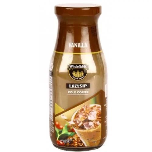 WHOLEFIELD'S VANILLA LAZYSIP COFFEE DRINK 280ml