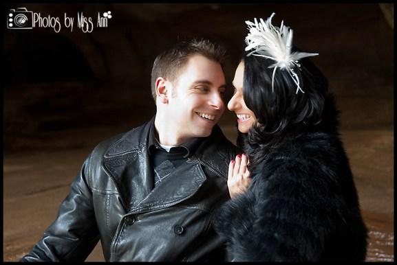 Wedding Photos at Vik Beach Cave by Photos by Miss Ann