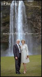 Couples Portrait Seljalandsfoss Wedding Photos by Miss Ann