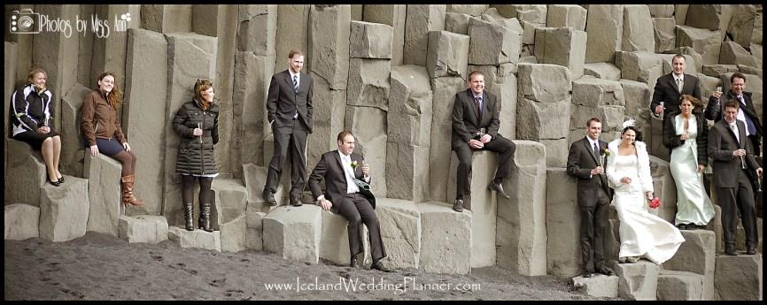 Iceland Wedding Photos Vik Beach Iceland Wedding Photographer Photos by Miss Ann