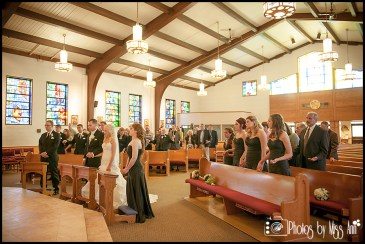 St. Pius X Catholic Church Wedding Southgate Mi Wedding Photographer Photos by Miss Ann-10