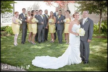 First United Methodist Wedding Bridal Party Portraits Iceland Wedding Planner