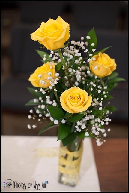 Memorial Flowers for Wedding Iceland Wedding Photographer Photos by Miss Ann