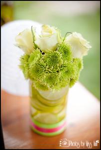Iceland Wedding Reception Centerpieces Photos by Miss Ann