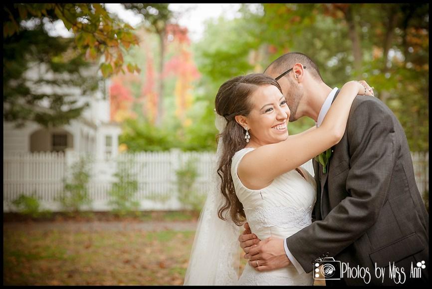 Dreamy Wedding Photos at Wildwood Metro Park Toledo Ohio