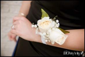 Wrist Corsage Ivory Flowers Iceland Wedding Planner and Photographer Photos by Miss Ann