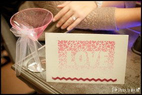 Ombre Love Graphic for Bachelorette Party Scavenger Hunt Iceland Wedding Planner