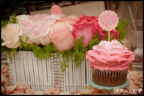 Pink Ombre Cupcakes by Iceland Wedding Planner Photos by Miss Ann