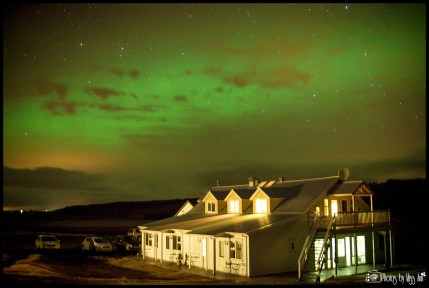 Best Hotel to View the Northern Lights in Iceland Hotel Laekur Hella Iceland