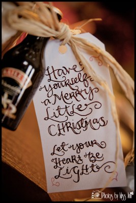 Christmas Party Favor Tags by Iceland Wedding Planner