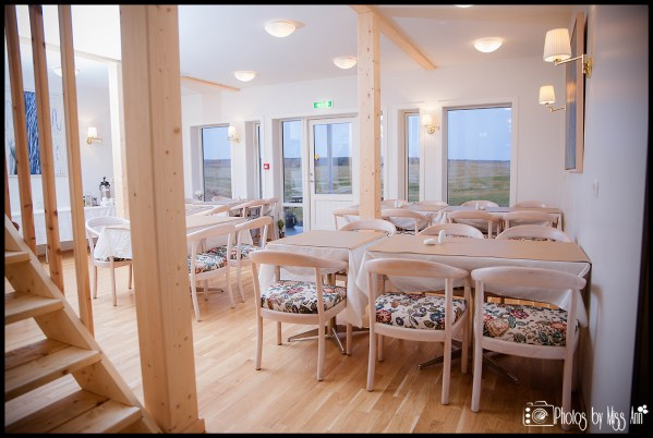 Hotel Laekur Dining Room Iceland Wedding Reception Area
