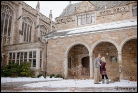 Ann Arbor Michigan Law Quad Engagement Session by Photos by Miss Ann