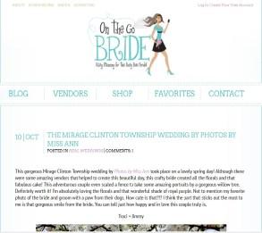 On the Go Bride Publish Photos by Miss Ann