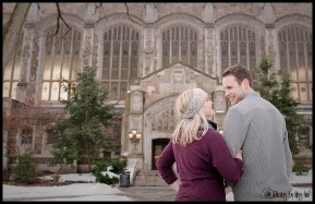 Really Romantic Engagement Session in Ann Arbor Michigan