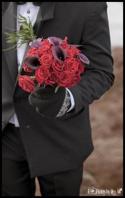 Iceland Bridal Bouquet Thingvellir National Park Wedding