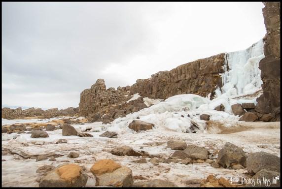 Iceland Wedding Oxararfoss WaterfallThingvellir National Park