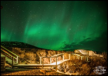 Iceland Northern Lights Wedding Photographer Photos by Miss Ann Hotel Glymur