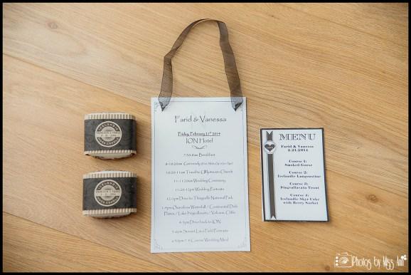 Iceland Winter Wedding Photos Iceland Destination Wedding Timeline Card and Menu
