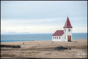Hellnar Church Seaside Country Church Snæfellsnes Peninsula