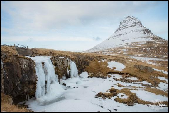 Iceland Waterfall Wedding Location Kirkjufellsfoss Waterfall