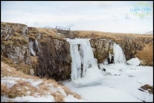 Kirkjufellsfoss Waterfall Iceland Wedding Photographer