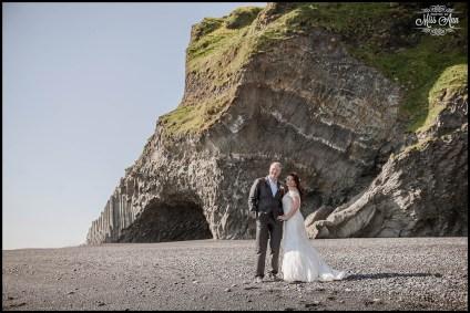 Iceland Cave Wedding Reynisfjara VIK