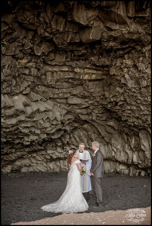 Iceland Wedding Photographer Reynisfjara Beach Wedding