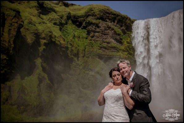 Skogafoss Iceland Wedding Photographer