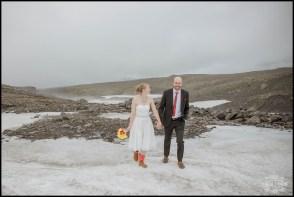 Iceland Glacier Wedding Photos